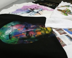 Grafic Center: Screen printing on fabrics and t-shirts